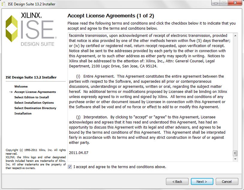 xilinx ise webpack 13.2